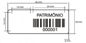 Etiquetas de Patrimônio